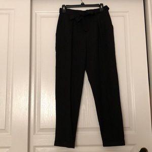 ASOS paper bag tapered pants